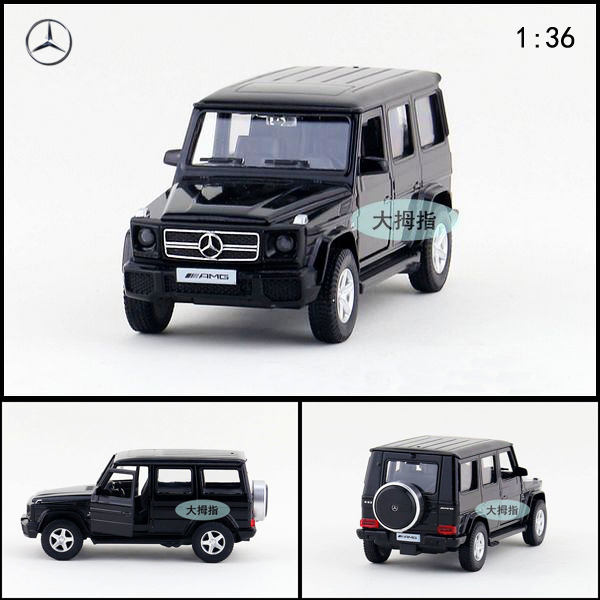 High Quality RMZ City 1/36 Benz G63 Die Cast Car Toy Model Pull Back Car Model Children Friend Gift Free Shipping(China (Mainland))