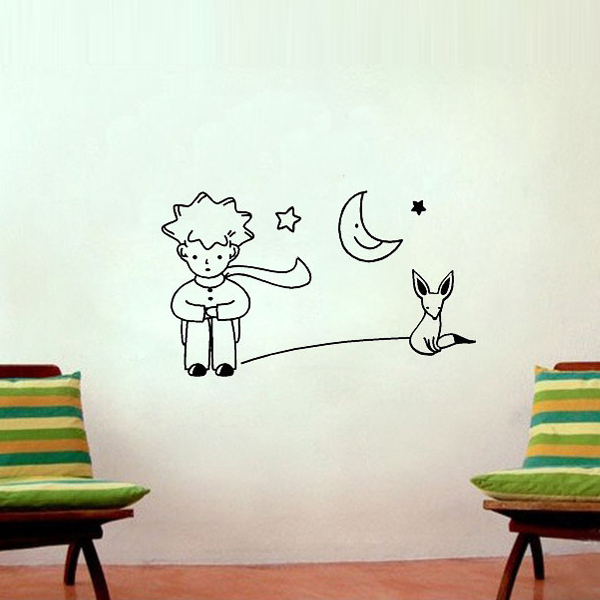 Girl bedroom wall decals home decor in wall stickers from home