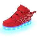 2016 Simulation Led Shoes For children Fashion High Quality Unisex LED Luminous Shoes girls boys Casual