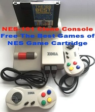 NES-101 Clone Console, Free The Best Games of NES Game Cartridge(China (Mainland))