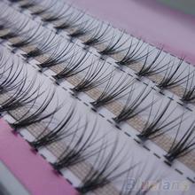 60 шт. Профессиональный Макияж Индивидуальный Прививка Поддельные Накладные Ресницы Кластера Ресницы 2IDS(China (Mainland))