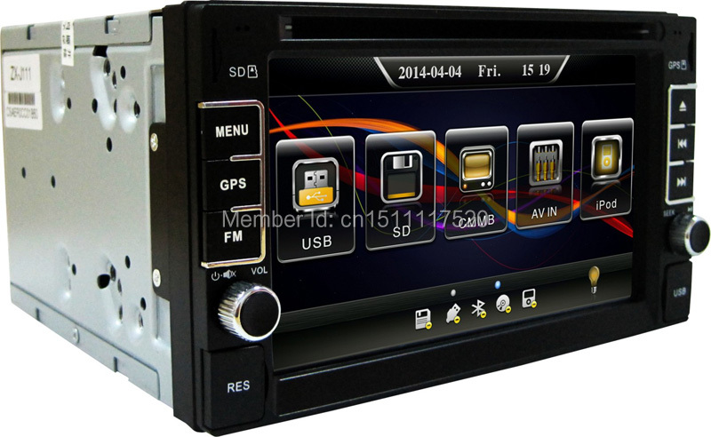 EZONETRONICS Car DVD GPS Navigation 2DIN Car Stereo Radio Car GPS Bluetooth USB SD Universal Interchangeable