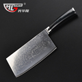 high quality damascus kitchen knife micarta handle full tang Chinese cleaver bone chopping butcher knife