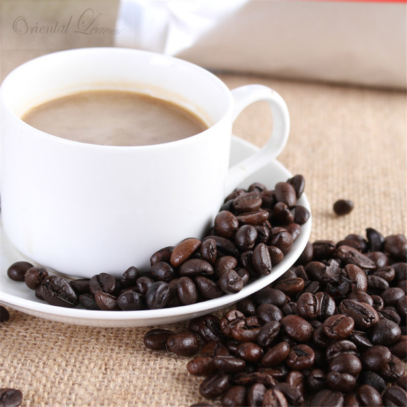 High Quality Vietnam Coffee Beans 500g Baking Charcoal Roasted Original Green Food Slimming Coffee Lose Weight