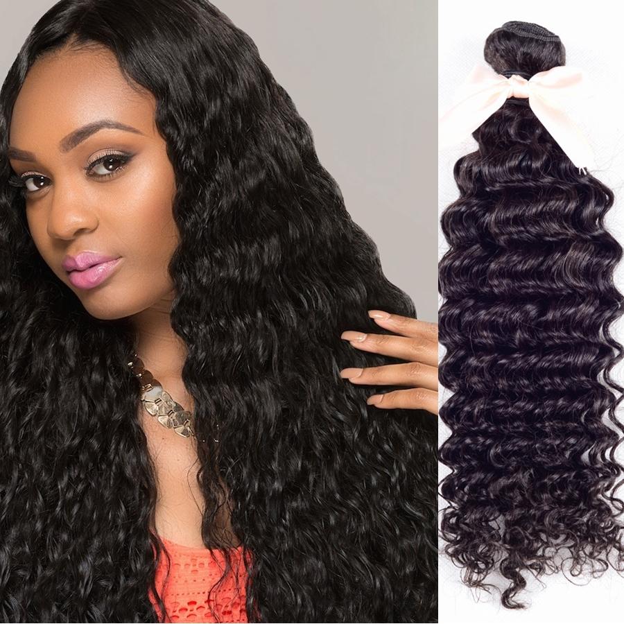 Гаджет  rosa hair products 3bundles  indian remy hair  100% cheap human hiar extension  indian deep wave hair 3pcs lot free shipping None Волосы и аксессуары