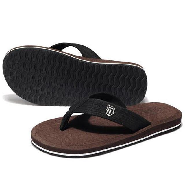 Новые 2016 летняя обувь мужчины марка свободного покроя пляжные тапочки мода мужские ...