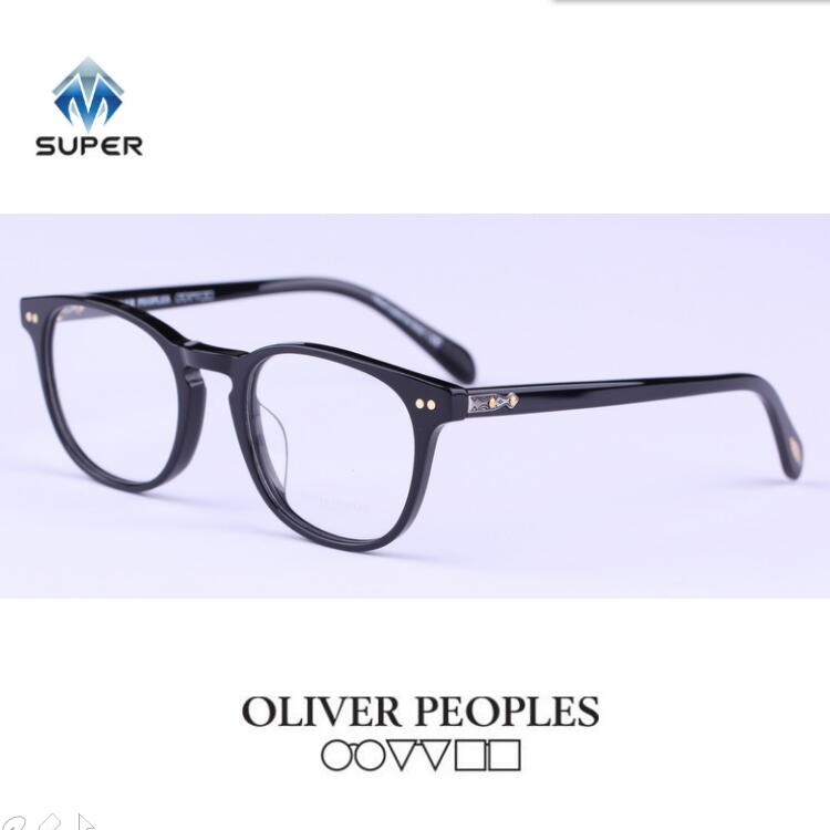 2016 new Vintage Johnny Depp Optical Glasses Frame Oliver Peoples Eyeglasses for Women Men Eyewear Frames oculos de 5257(China (Mainland))