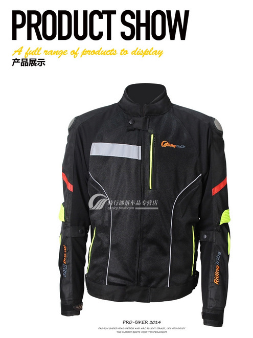 Titanium Knights motorcycle riding clothes motorcycle racing suit popular for men and women waterproof jacket PRO JK-27(China (Mainland))