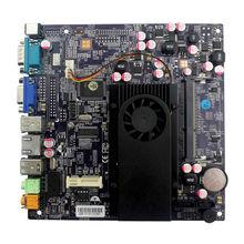 Hot sale!!! D525 motherboard ddr3 mini motherboard desktop Integrated Intel Dual Core Atom D525 cpu with 4 USB Port