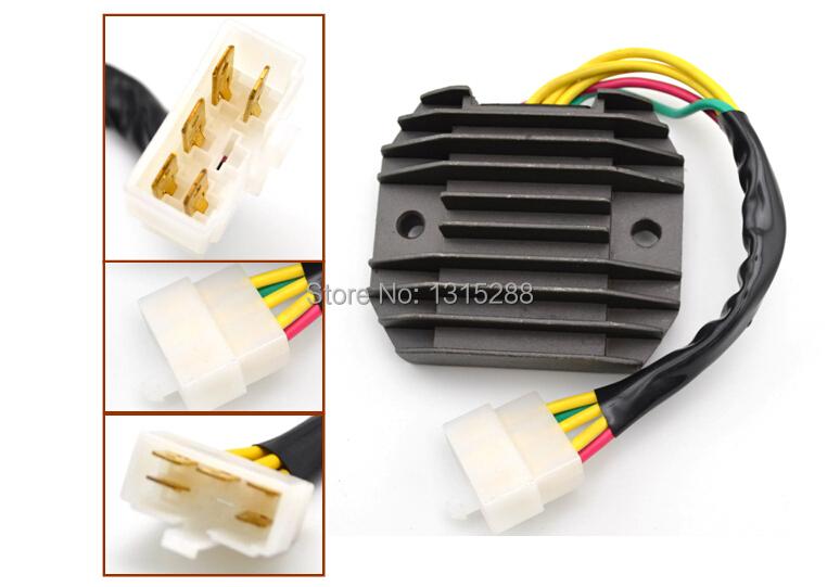 Motorcycle Voltage Regulator Rectifier For Yamaha Virago XV125 XV250 XV400 XV 125 250 400 Replacement(China (Mainland))
