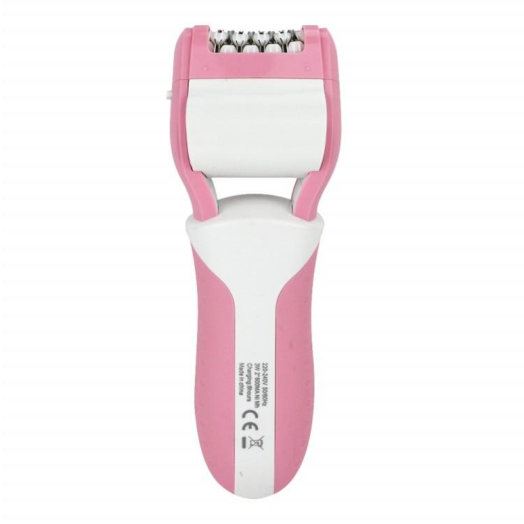 Gemei Multi – função 3 em 1 barbeador elétrico depilação ferramentas cuidados com os pés epitator Callus Remover Velvet suave para as mulheres os cuidados
