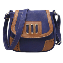 2015 New Arrival Vintage Crossbody Small Bags For Women High Quality Hollow Out Pu Leather Handbags