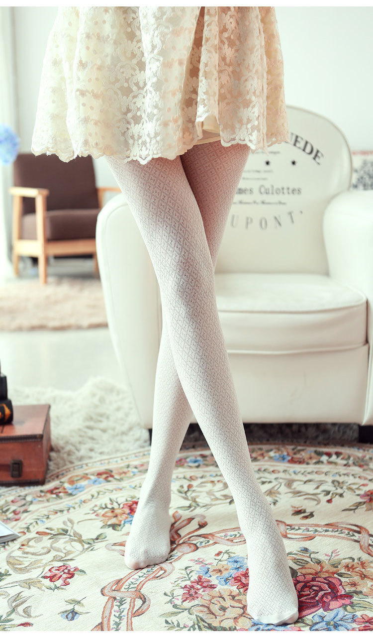 Zsmp сексуальные колготки пирсинг хаундстут колготки женщин колледж сладкий ретро дизайн чулки WZ04174