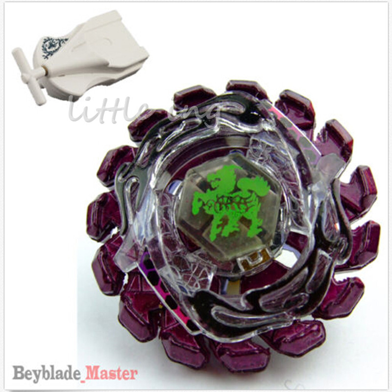 1pcs Beyblade Metal Fusion 4D BB86 Purple Poison Zurafa Giraffe S130MB With Launcher Spinning Top For Christmas Gift Toys(China (Mainland))