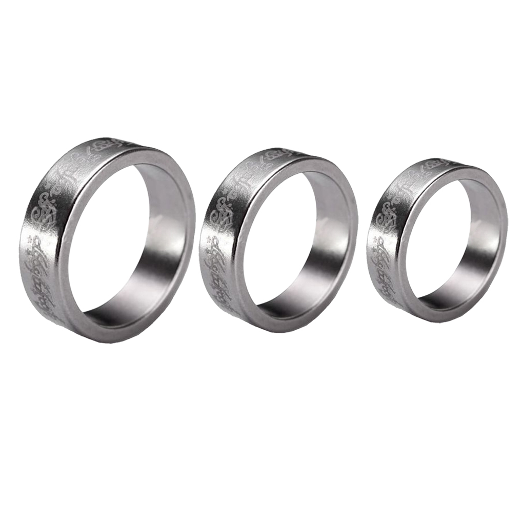 1 pcs Stainless Steel Magic Strong Magnetic Ring rings Magnet Coin Finger Magician Trick Props Show Tool 3 size(China (Mainland))