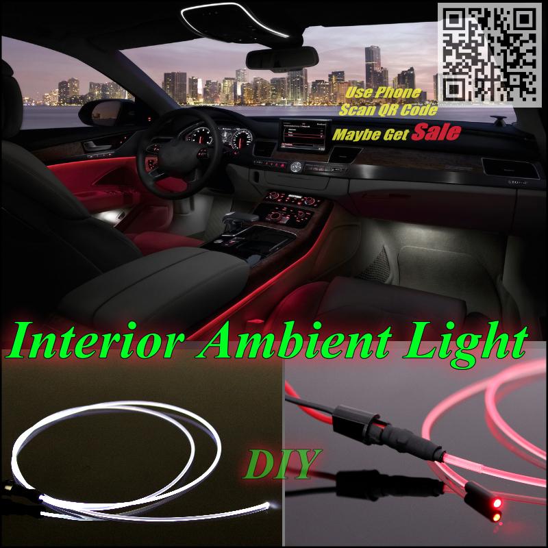 Mercedes Benz S MB W126 W140 Car Interior Ambient Light Panel illumination Inside Cool Strip Optic Fiber Band - NOVOVISU Store store