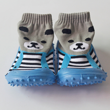 Funny mepiq baby shoes rubber sole girls sock shoes 2014 hot anti skid kids shoes first walker toddler boys shoes sock skidders(China (Mainland))