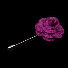 Pesona Bunga Daisy Kerah Pin Buatan Tangan Unisex Cocok untuk Kemeja Pin Bros untuk Pesta Pernikahan Penuh Warna Indah Aksesoris Perhiasan(China)