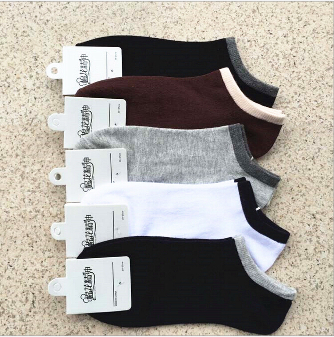 2015 Men's Socks Cotton Brand Sport Basketball Sock Men Athletic Calcetnes Meias Masculinas ankle socks 5pair/lot Meias Sox(China (Mainland))
