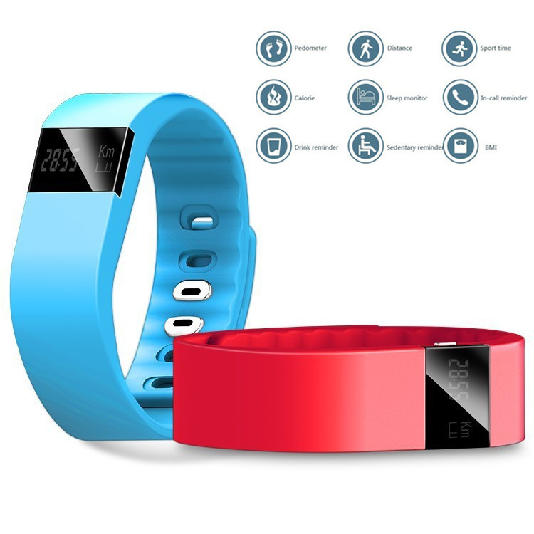 Fitness bluetooth android 4.0 bracelet TW64 for Android and IOS with Sleep Tracker Free Shipping(China (Mainland))