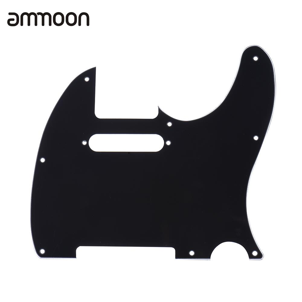 Pickguard Pick Guard 3Ply Construction for Telecaster Standard Modern Style Electric Guitar Black(China (Mainland))