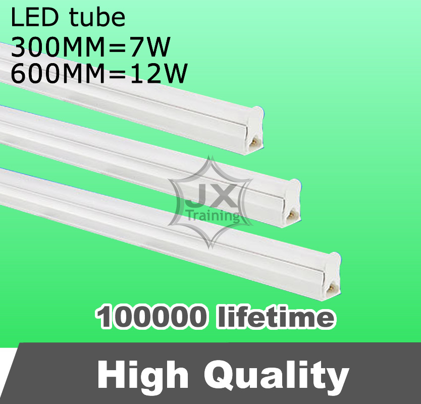 10pcs/lot 7w 12w LED tube 300mm 600mm 110v 220v 240v 230v SMD epistar led light warm white cold white free shipping(China (Mainland))