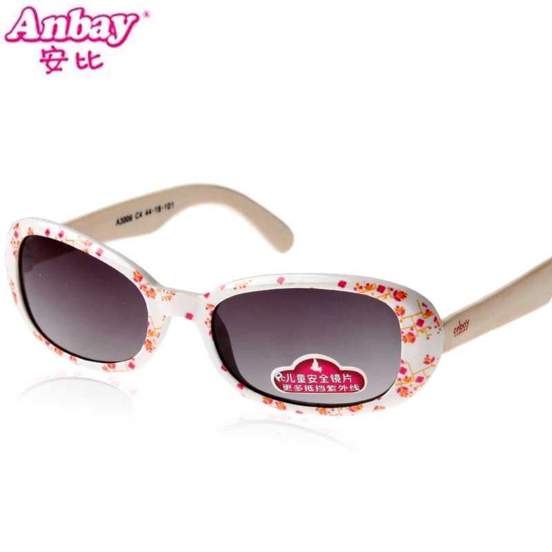 Womanhood anbi sunglasses female fashion ploughboys child glasses 3 - 8 3006