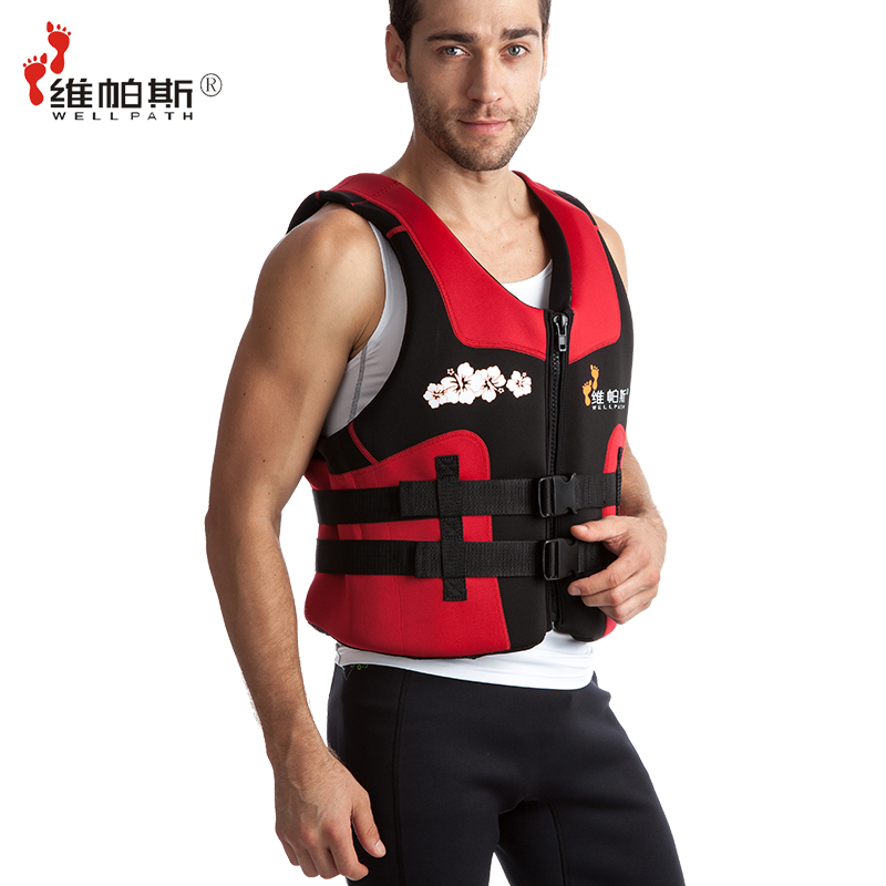 Professional life vest adult snorkeling vest swimming vest thickening life jacket(China (Mainland))