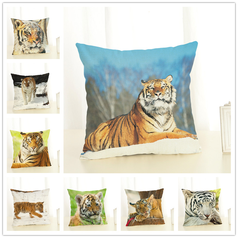 Popular tiger print car seat covers buy cheap tiger print for Quality home decor