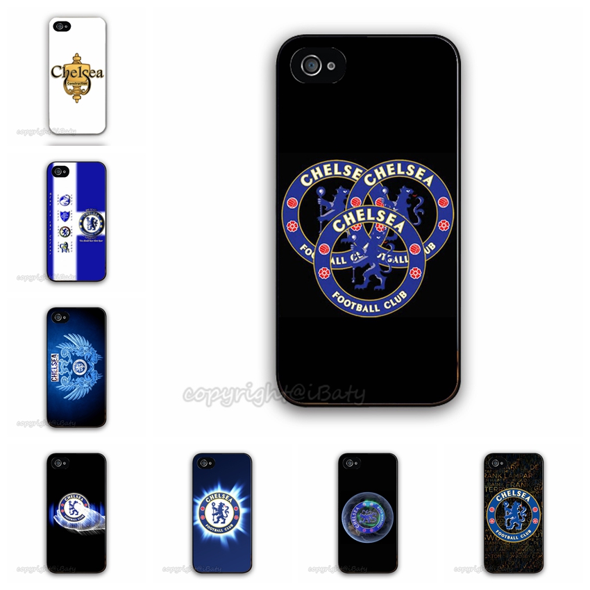 Hot Selling Chelsea FC Football Club Customized Printing Plastic Hard Back Cell Phone Cover For Apple iPhone 5 5G 5S Case(China (Mainland))