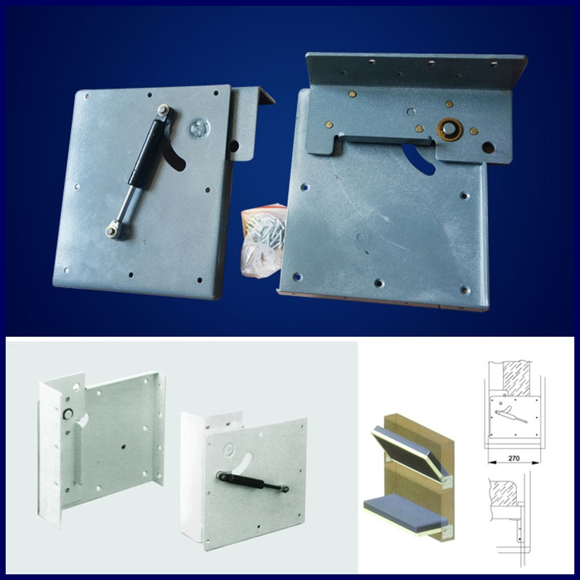 Wall bed, hidden type bed hardware accessories Y-04(China (Mainland))
