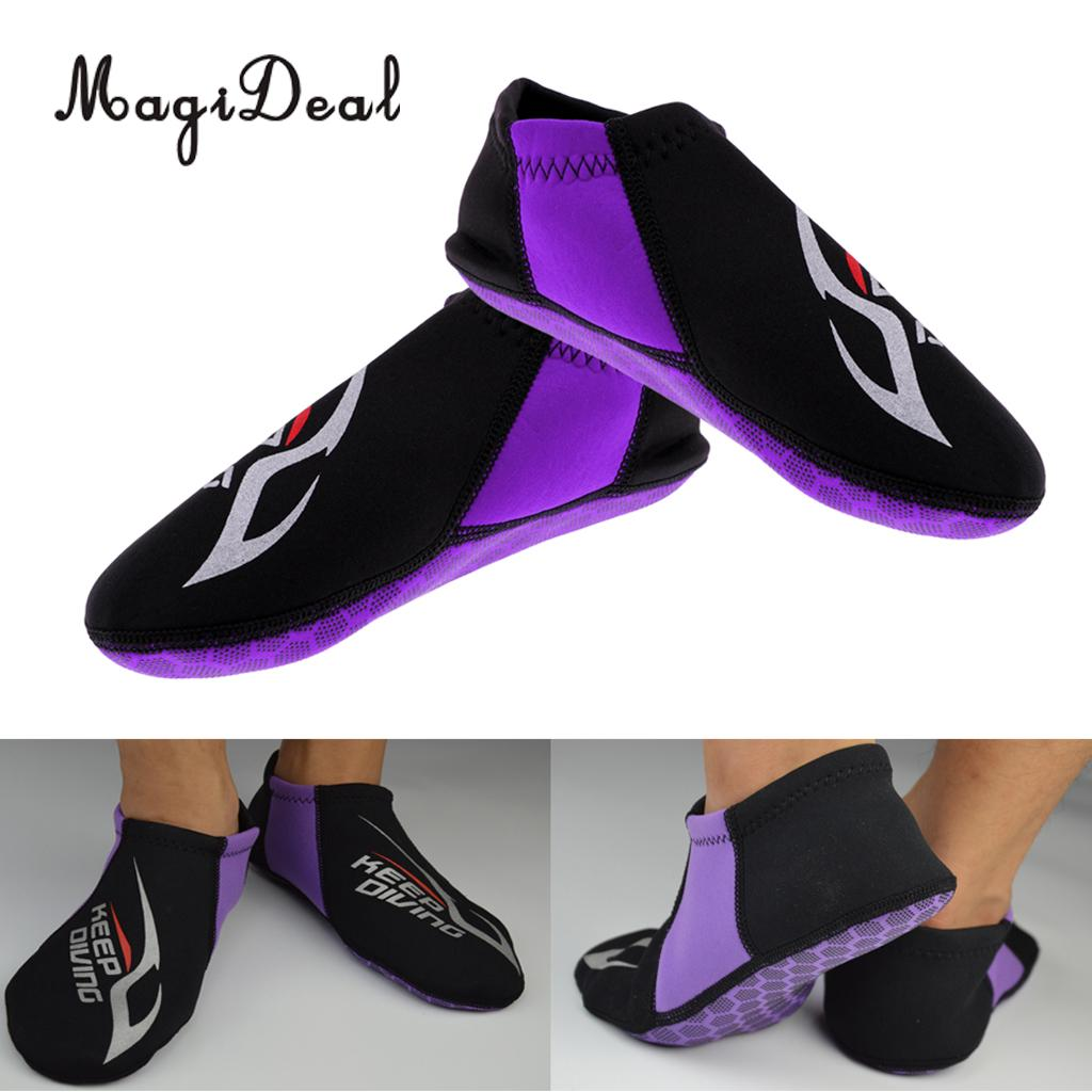 MagiDeal Anti-slip 3mm Neoprene Socks Snorkeling Diving Water Shoes Aqua Socks Swim Surf Beach Scuba Diving Wetsuit Shoes Boots