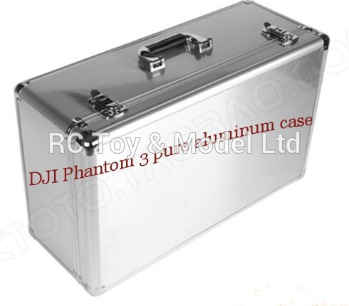 2015 DJI Phantom 3 Professional Aluminum EVA Hard Case Box with Key Lock EVA AR RC Drone Quadcopter FPV parts