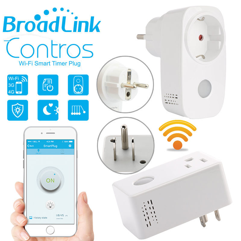 Smart home Broadlink 16A+timer EU US wifi power socket plug outlet,cell phone Wireless Controls for iphone ipad Android,domotica(China (Mainland))