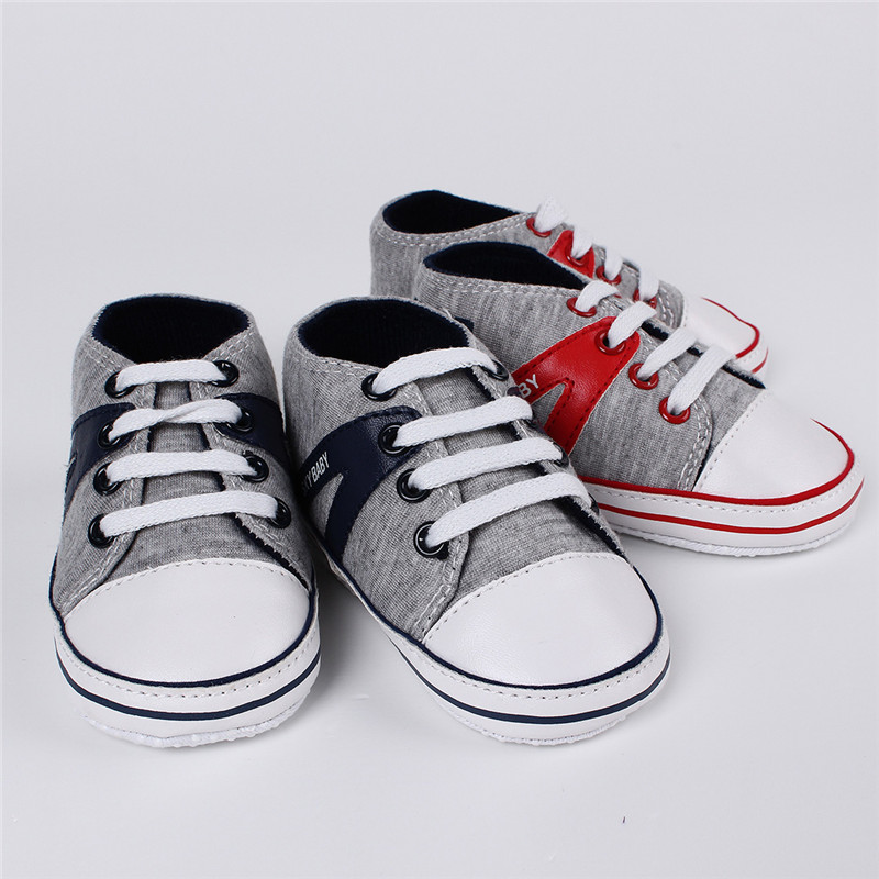 Hot Selling 11-13cm Cute Infant Toddler Baby Shoes Girl Boy Soft Sole Sneaker Prewalker First Walker Crib Sport 0-18 Months