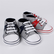 Hot Selling 11-13cm Cute Infant Toddler Baby Shoes Girl Boy Soft Sole Sneaker Prewalker First Walker Crib Sport 0-18 Months(China (Mainland))