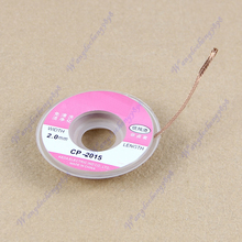 J34 Free Shipping 10pcs/lot New Desoldering Braid Solder Remover Wick Cable Wire(China (Mainland))