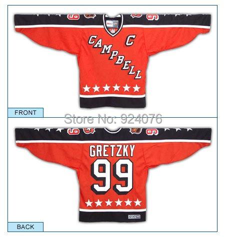 Здесь можно купить  Gretzky Campbell Conference All Star Vintage Heroes of Hockey Replica Jersey 1984  Спорт и развлечения