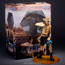 """Buy One Piece POP Portgas D Ace 10th Anime PVC Action Figure Collection Toy 9"""" 23CM Free for $24.45 in AliExpress store"""