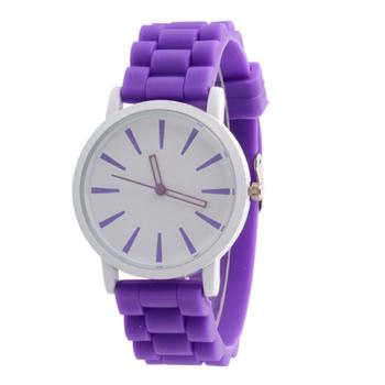 2015 GENEVA Sports Quartz Watch Women Silicone Rubber Jelly Gel Analog Watches Girls Running Wrist Watch relogio feminino
