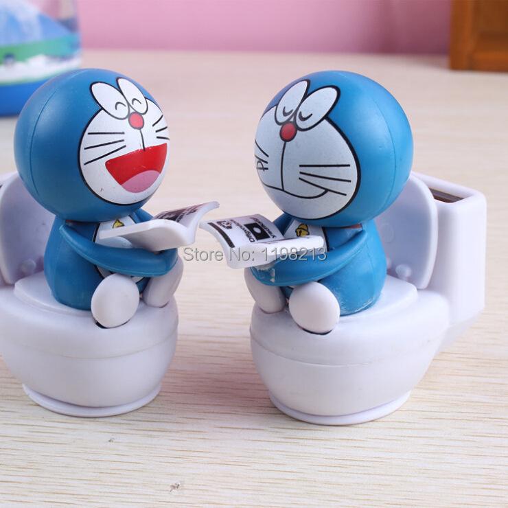 1pcs New Fashion Lovely Solar Power Toy car Auto Solar Energy Toys Toilet Dancing DIY Solar Kits Doll(China (Mainland))