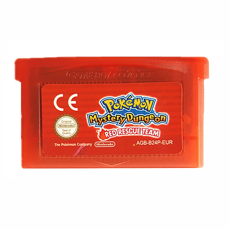 Nintendo Game Boy Advance GBA Game Pokemon Mystery Dungeon Red Rescue Team Video Game Cartridge Console Card English Version