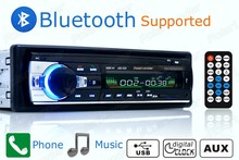 new 12V Car radio bluetooth Stereo bluetooth FM Radio MP3 Audio Player USB SD MMC Port Car radio bluetooth In-Dash one DIN size(China (Mainland))