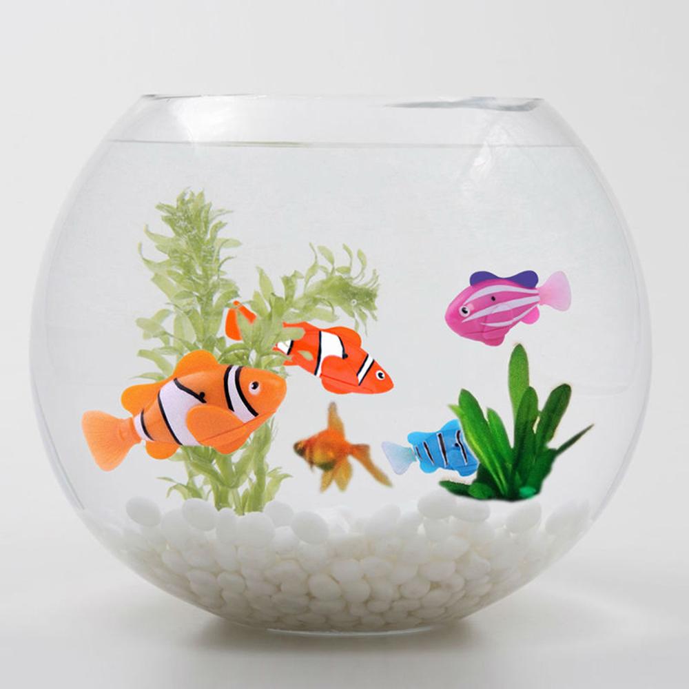 M tal fish tank promotion achetez des m tal fish tank for Jouet aquarium poisson