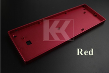 Customized KC60 GH60 Full Kit Aluminum Case Shell PCB Plate Switches LED For 60% Standard Layout Mechanical Keyboard Like Poker(China (Mainland))