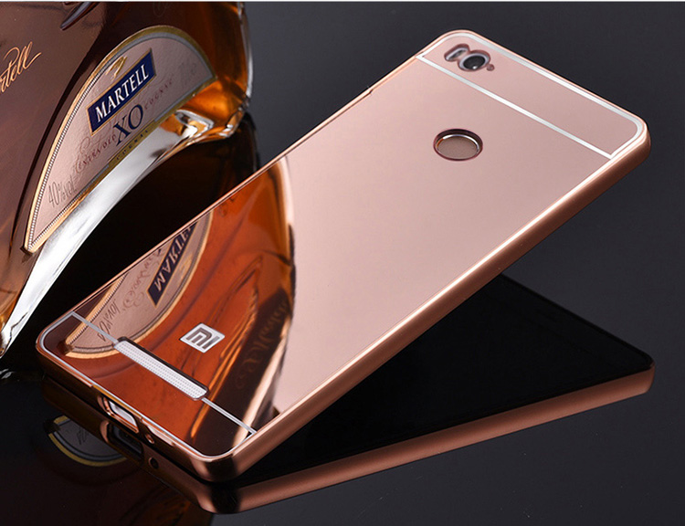 Case Design chinese phone cases : ... Metal Frame Set Hot Phone Bag Cases Coque For Redmi3 Pro xiomi 3 s