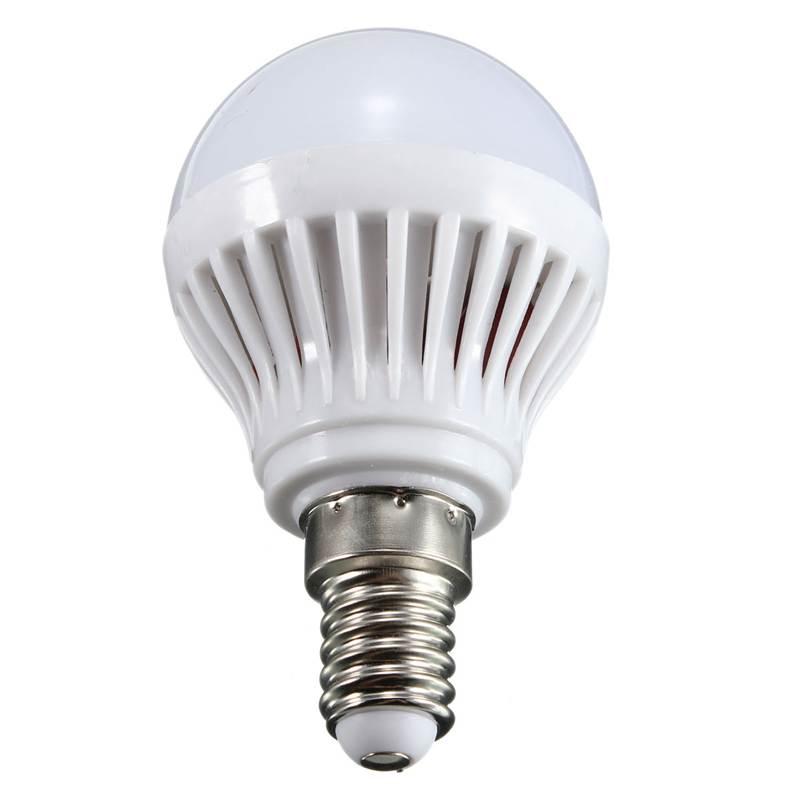 New Arrival E14 3W/4W/5W/6W 2835 SMD Energy Saving LED Globe Spot Light Bulb Lamp 220V Pure Warm White(China (Mainland))
