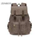 ZENBEFE Large Capacity Travel Backpack Vintage Women S Backpack Durable Student School Bags Good Quality Backpacks