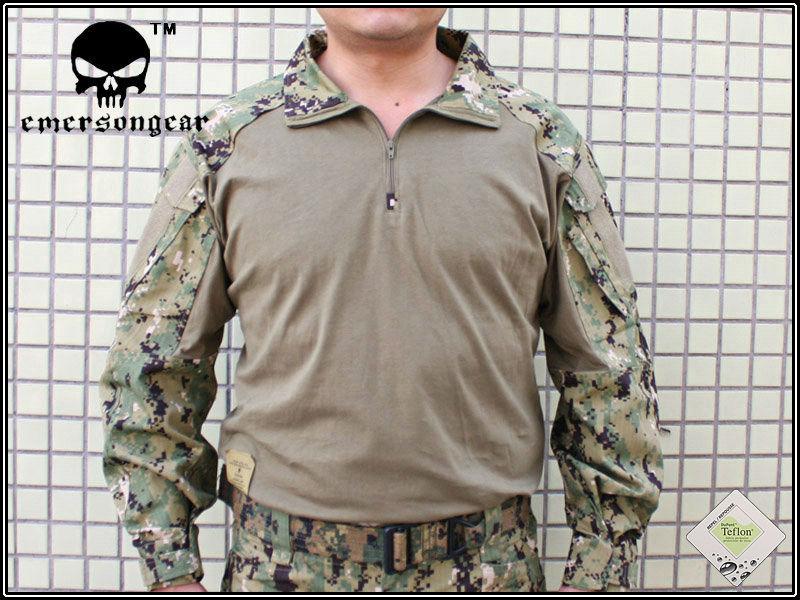 Emerson Tactical  Gen 3 Combat shirt Emerson BDU Military Army shirt AOR2 EM8596