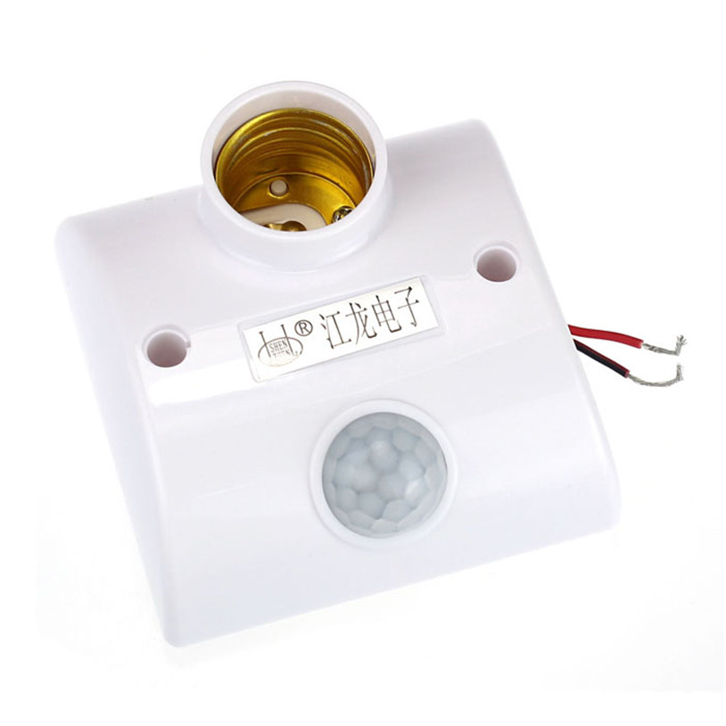 E27 Infrared Motion PIR Sensor Automatic LED Light Lamp Holder Switch quality first<br><br>Aliexpress